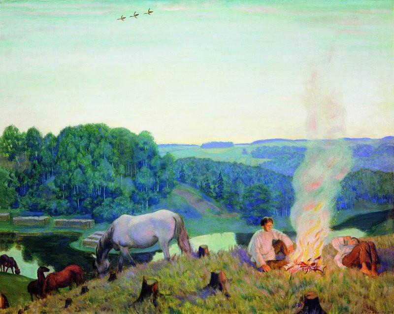The Bonfire, 1916
